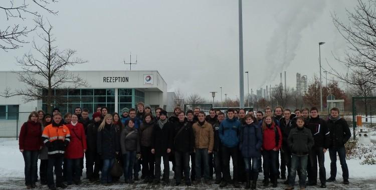 Exkursion zur Total-Raffinerie