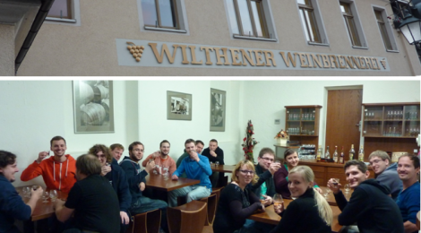 Exkursion Wilthener Weinbrennerei