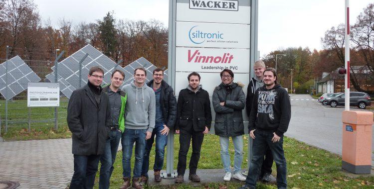 Exkursion Vinnolit und Wacker